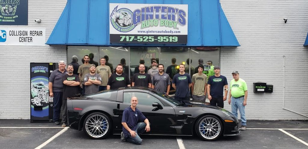 Performance Auto Body >> About Us Ginter S Full Service Auto